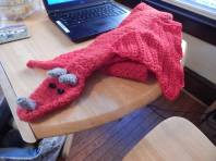 ETSY dragon character scarf