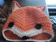 ETSY fox character hat